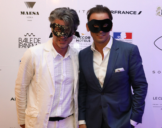 Nicolas Martin Ferreira e Patrick Mendes