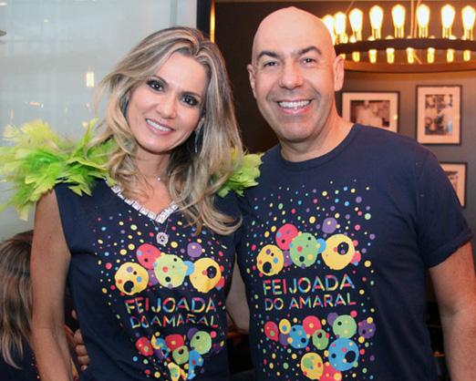O casal simpatia Marcelo e Adriana Alves