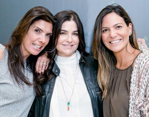 Patricia Brandão, Dany Chady e Carol Sampaio