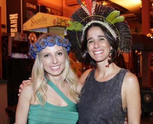 Patricia Lunardelli e Mayra Abbondanza