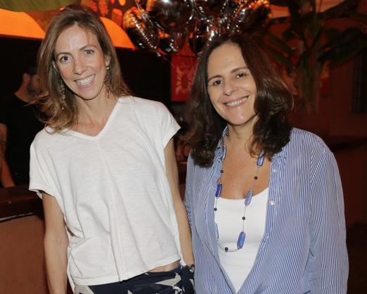 Paula Brauen e Karen Suplicy
