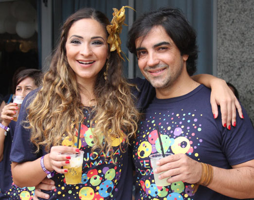 Sabrina Korgut e Paulo Lopes