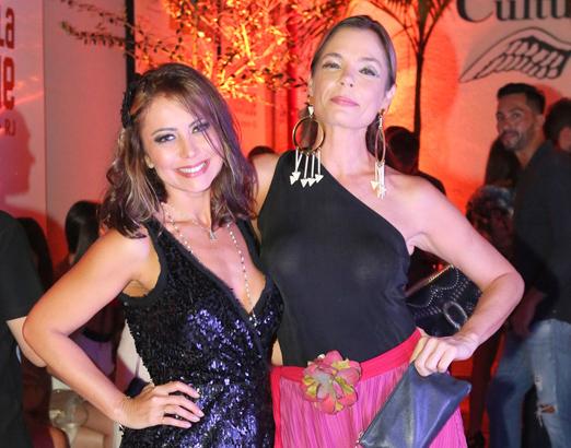 Simone Soares e Alexia Dechamps