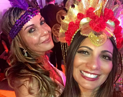 Suzana Galdeano e Marcia Romão