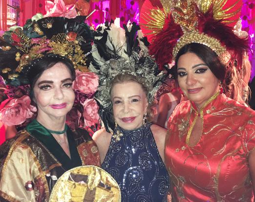 Vera Loyola, Ilka Bambirra e Hosana Pereira