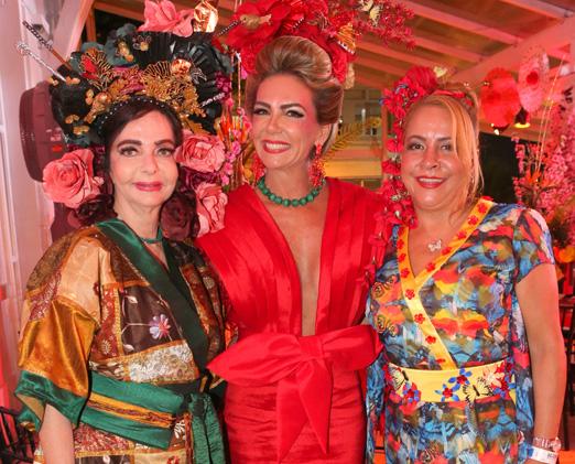 Vera Loyola, Márcia Veríssimo e Candida Virgínia Ribeiro
