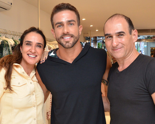 Vera Minelli, Erasmo Viana e Amir Slama