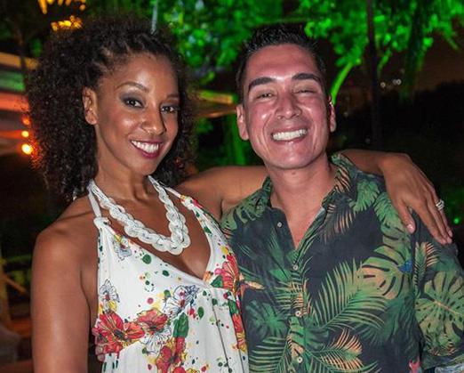 Adriana Lessa e Hugo Oliveira