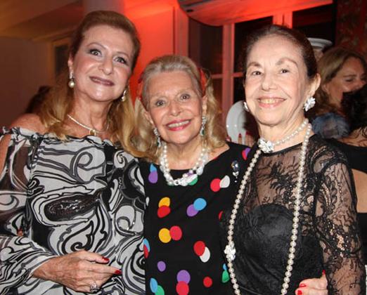 Angela Alhante, Lourdes Catão e Mappi Corino