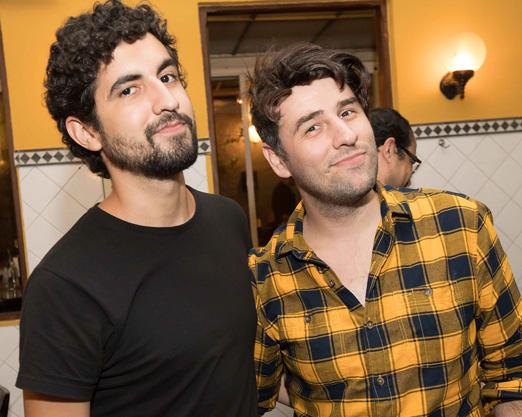 Arthur Capelazo e Mauricio Chahad