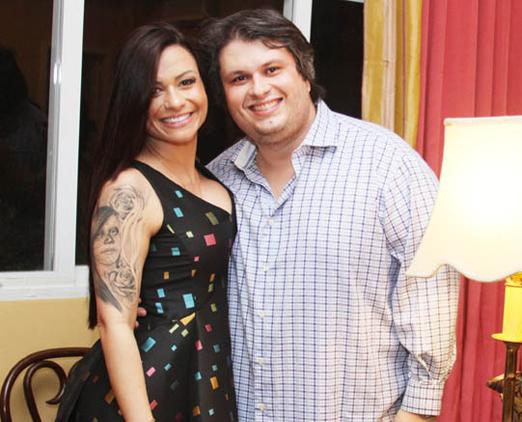 Bruna Vieira e Claudio André de Castro