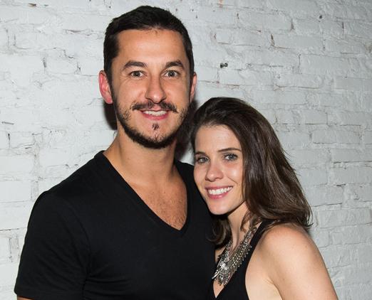 Bruno Van Enck e Paula Brofman