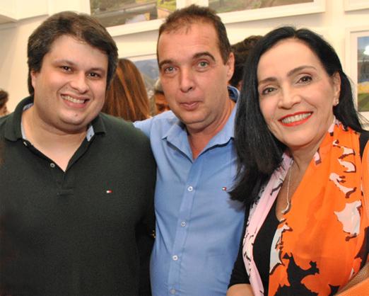 Claudio, Bayard e Liliana