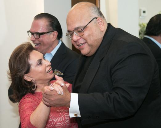 Cleuba Verri e Padre Jorjão