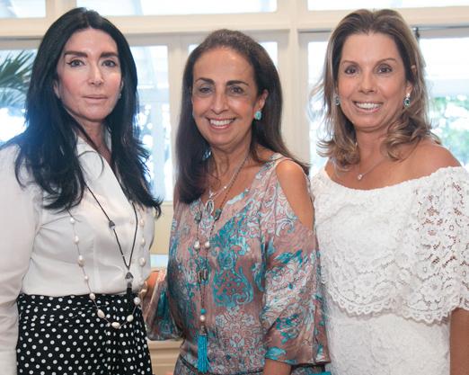 Elda Monnerat, Tania Carvalho e Tania Pereira
