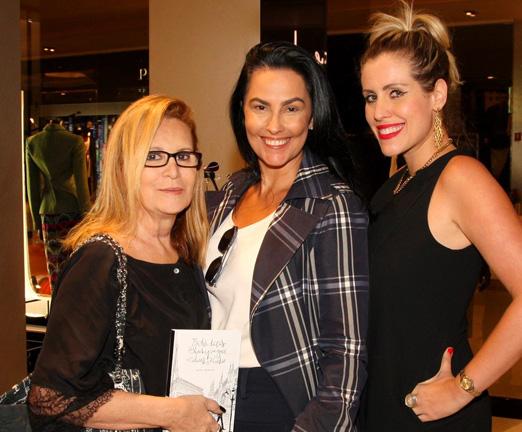 Fátima Martins, Adriana Almeida e Bruna Barros