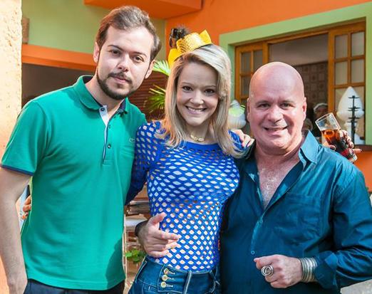 Felipe Braga, Roberta Fonseca e Eder Meneghine