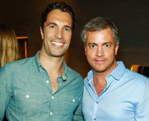 Flávio Sarahyba e Christian Blanco