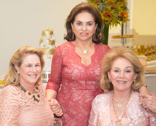 Glória Severiano Ribeiro, Cleuba Verri e Idinha Seabra Veiga