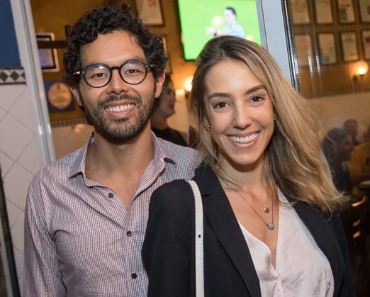 Guilherme Takassi e Maria Vitória Falcão