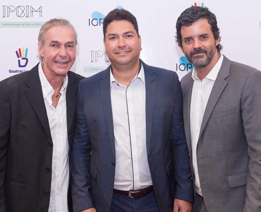Ignácio Coqueiro, Paulo Ribeiro e Jorge Pontual