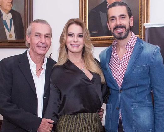 Ignácio Coqueiro, Carla Góes e Alexandre Taleb