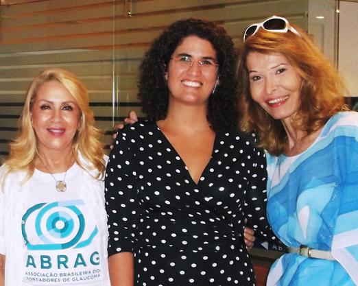 Isis Penido, Luisa Aguiar e Romy di Vitti