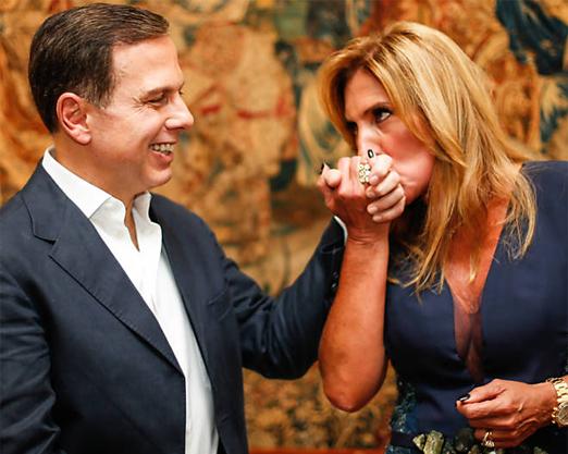 João Doria e Lucilia Diniz