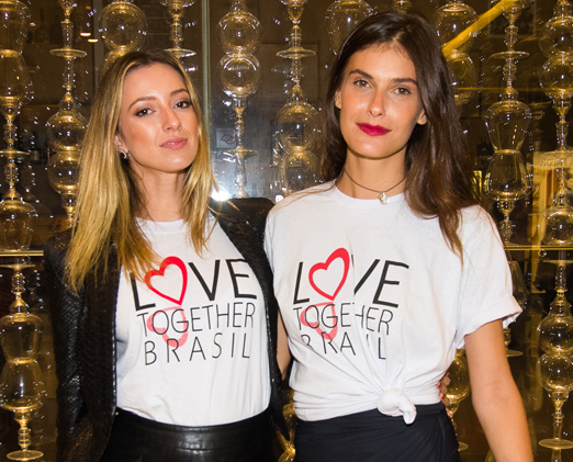 Juliana Passos e Carol Francischini