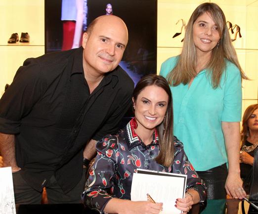 Junior Aguiar, Manu Berger e Ana Paula Coutinho