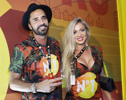 Latino e Jéssica Rodrigues