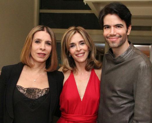 Liège Monteiro, Deborah Evelyn e Luiz Fernando Coutinho