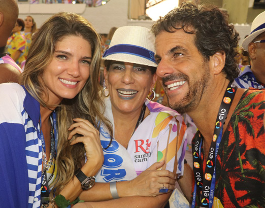 Lou Montenegro, Glória Pires e Álvaro Garnero