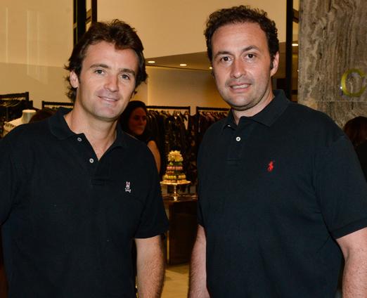 Luis Fernando Vidigal e Denis Ramos