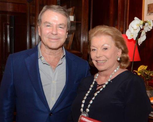 Luiz Carlos Ritter e Yara Andrade