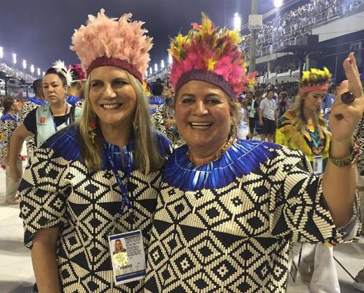 Maninha Barbosa e Renata Fraga