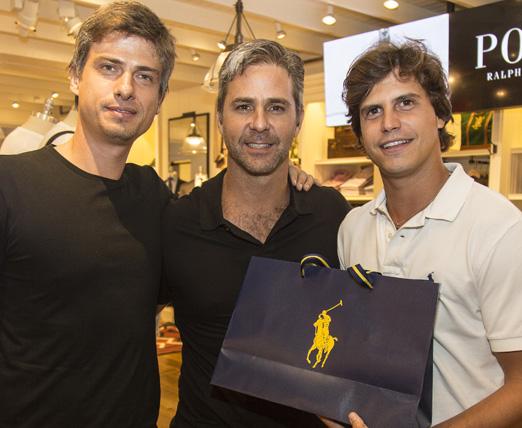 Marcelo Bruni, Marcos Botelho e Pedro Braun