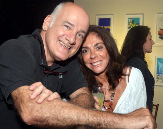 Marcelo Itagiba e Ana Luiza Rego