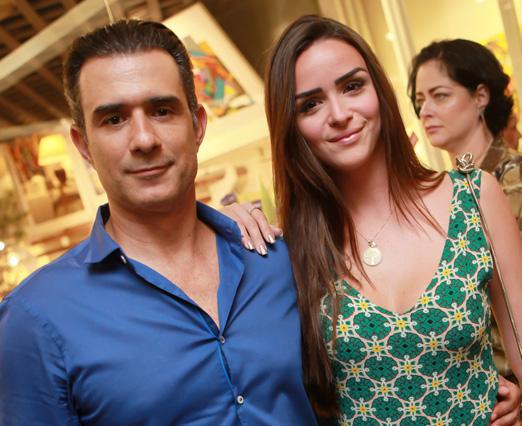 Marcos Pasquim e Aline Fernandez