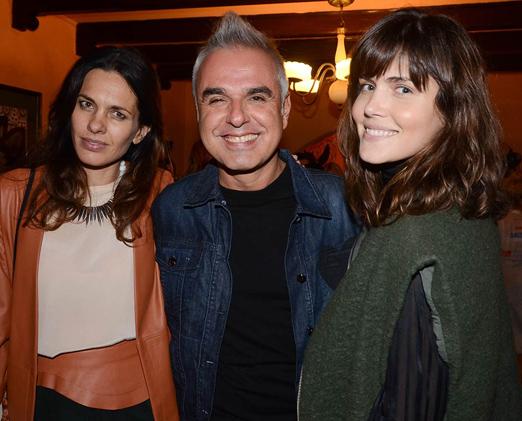 Melanie Bittencourt, Marcio Vicentini e Thays Couto