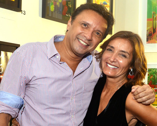 Napoleão Lacerda e Lucia Guanabara