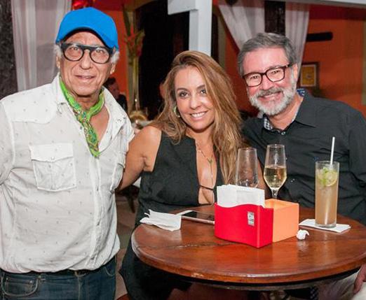 Neville D'Almeida, Gloria Heloiza e Armando Junior