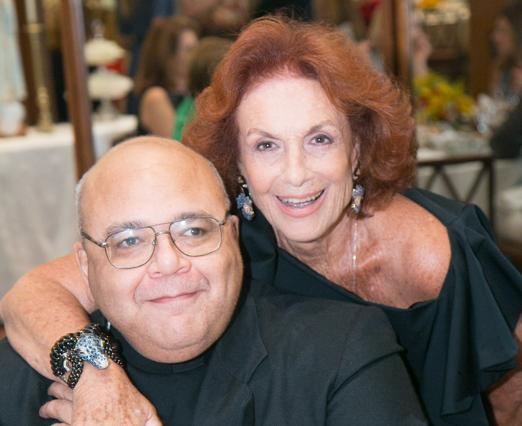 Padre Jorjão e Eliana Moura