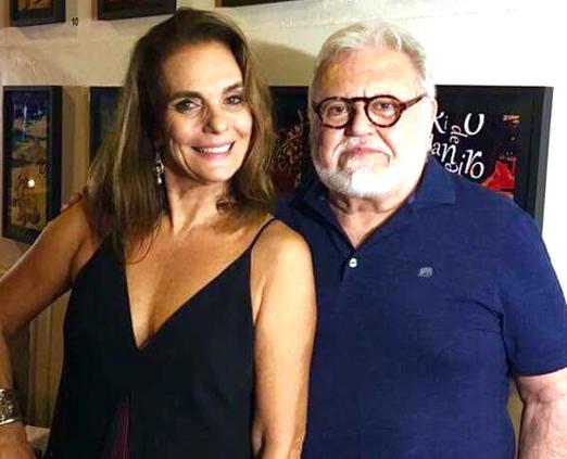 Patricia Secco e Ricardo Amaral