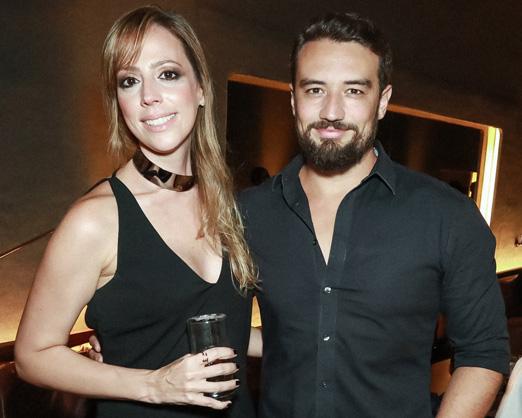 Paula Fragomeni e Felipe Morales
