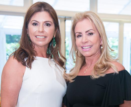 Raquel Verri e Marise Gollo