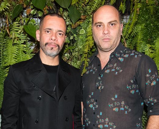 Ricardo Cruz e Paulo Tiefenthaler