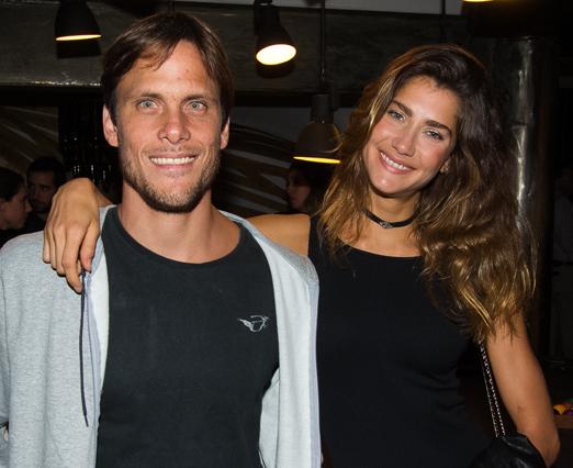 Ricardo Whately e Guisela Rhein