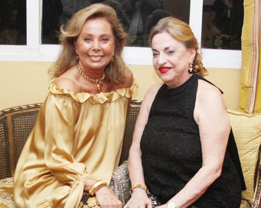 Sandra Naslausky e Maria Alice Araújo Pinho