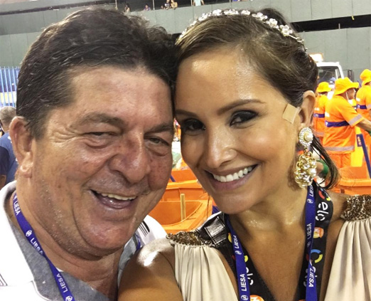 Stepan Nercessian e Luciana Gomes Pittigliani